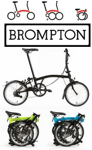 Vi säljer Bromton cyklar. Klicka för mer info.
